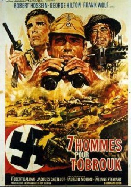 7 Hommes pour Tobrouk - La Battaglia del deserto - 1969 - Mino Loy 7_homm11