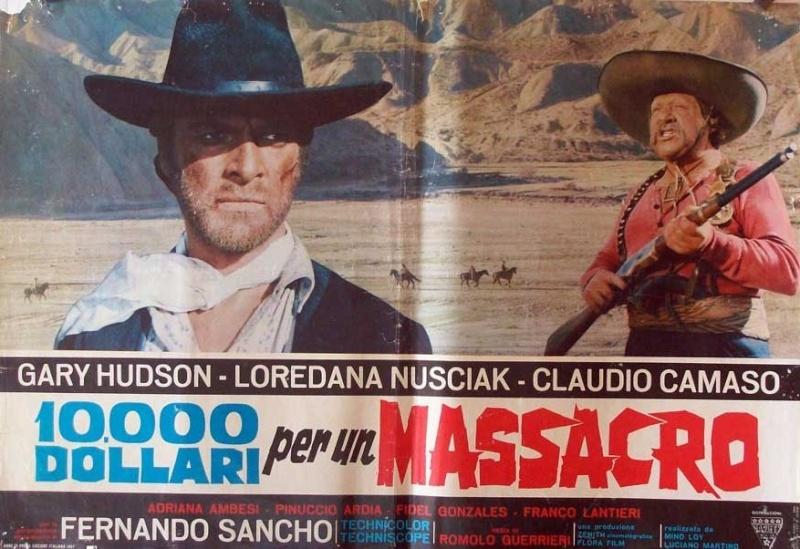 Le Temps des Vautours - 10 000 Dollari per un Massacro - Romolo Guerrieri - 1967 8656010