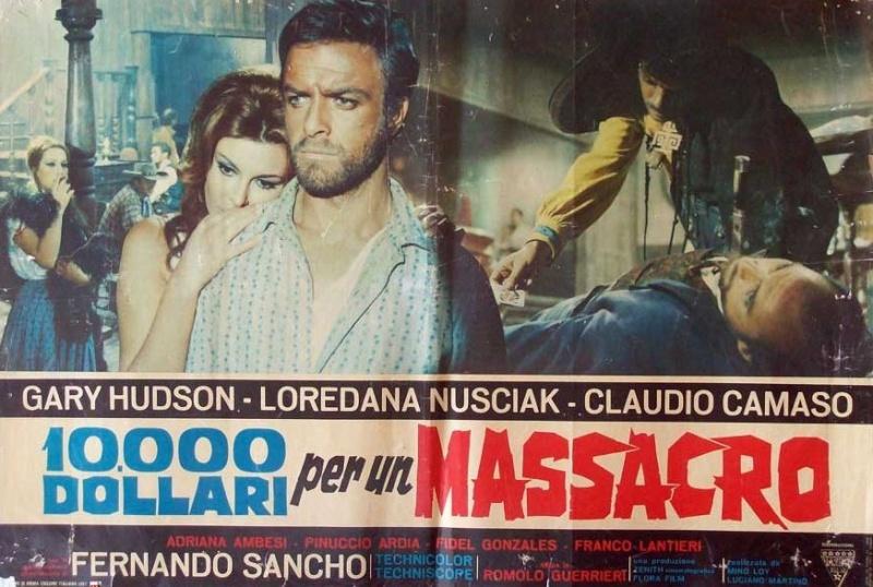 Le Temps des Vautours - 10 000 Dollari per un Massacro - Romolo Guerrieri - 1967 8656410
