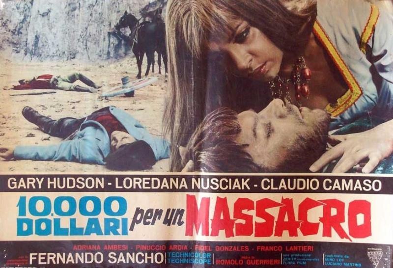 Le Temps des Vautours - 10 000 Dollari per un Massacro - Romolo Guerrieri - 1967 8656610