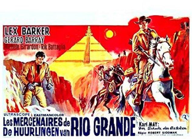 Les mercenaires du Rio Grande ( I Violenti di Rio Bravo ) –1965- Robert SIODMAK Af-08910