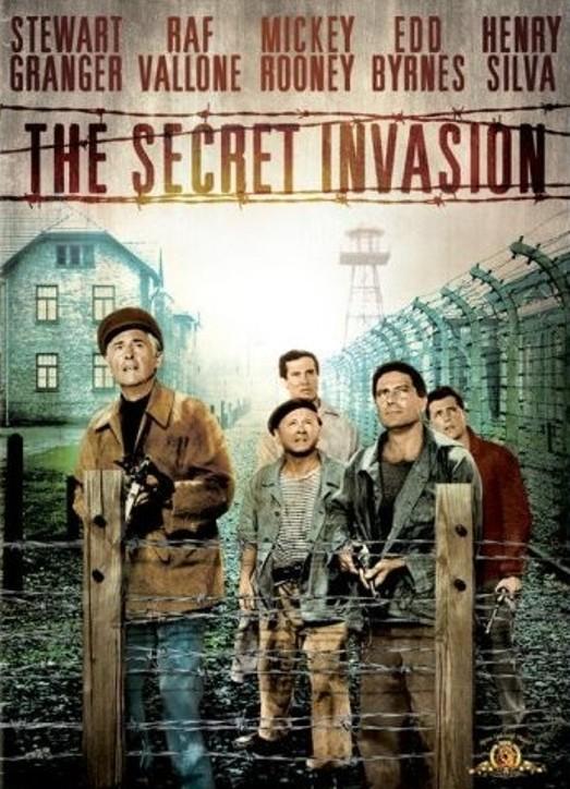 L'invasion secrète. The Secret Invasion. 1964. Roger Corman. Affich16