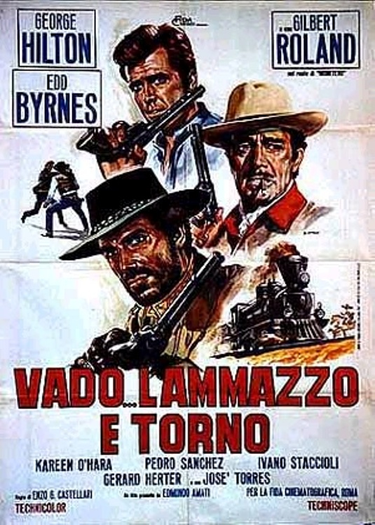 Je vais , je tire et je reviens . 1967 . Enzo G. castellari . Anygun11