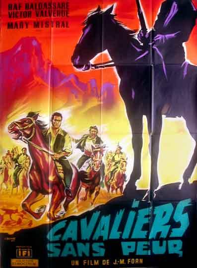 Les cavaliers sans peur. José María el Tempranillo . 1963. Jose Maria Forn Cavali10