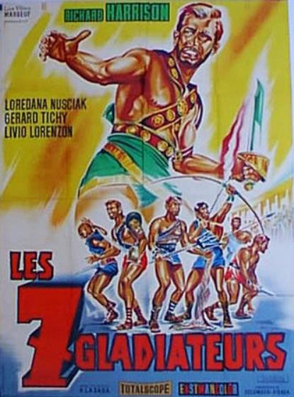 Les 7 gladiateurs. 1962. Pedro Lagaza. En112811