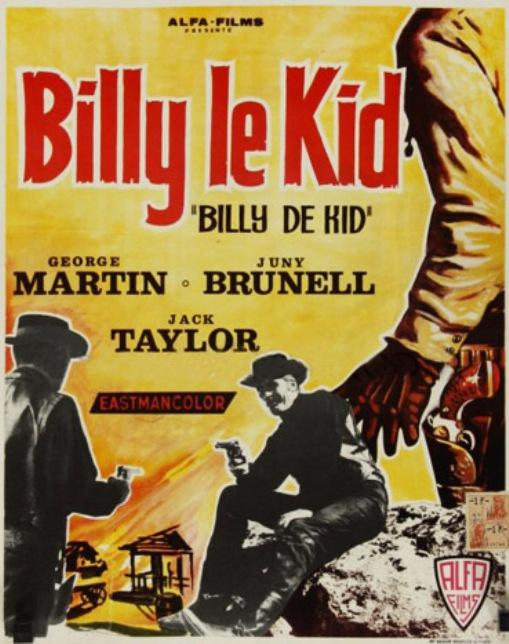 Billy le Kid ( Fuera de la ley ) .1963 . Leon Klimovsky. En120011