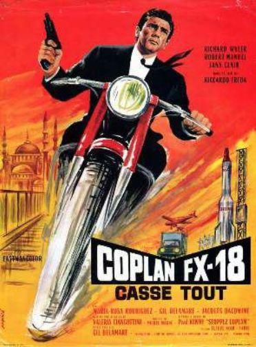 Coplan FX 18 casse tout - Objetivo:¡Matar! - Riccardo Freda , 1965 En121810