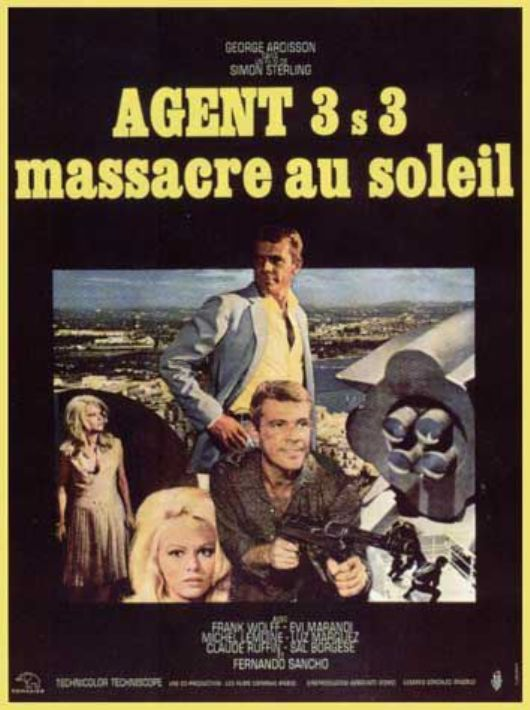 Agent 3 S 3 Massacre au Soleil - 3-S-3, agente especial (Agente 3S3 massacro al sole, 1966) Sergio Sollima En133610