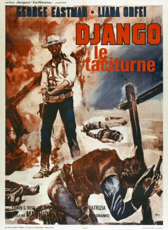 Django le taciturne (Bill il taciturno) - 1969 - Max Hunter (M. Pupillo)  En136212