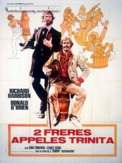 Deux Frères appelés Trinita - Jesse, Lester Duo Fratelli In Un Posto Chiamato Trinita - Renzo Genta - 1972 En164310