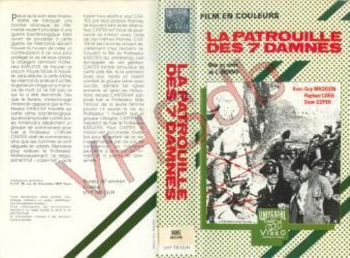 La Patrouille des 7 Damnés - Comando al Infierno , 1969 - José Luis Merino G9vixj10