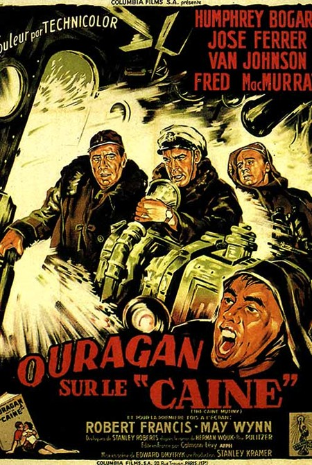 Ouragan sur le Caine. 'The Caine Mutiny' . 1954 . Edward Dmytryk. Gaff8710