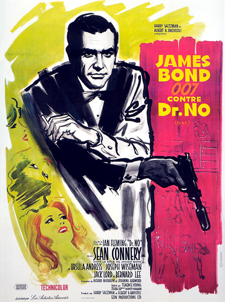 James Bond 007 contre Dr. No. 1962. Terence Young. Im-23810