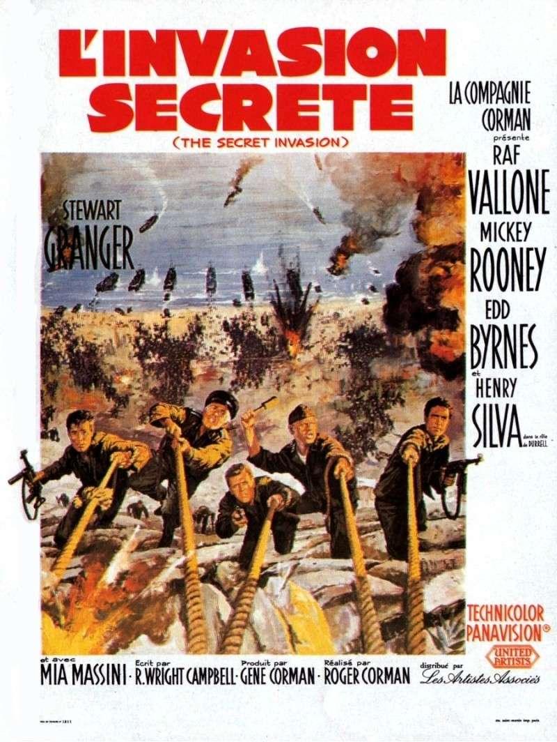 L'invasion secrète. The Secret Invasion. 1964. Roger Corman. L_inva10