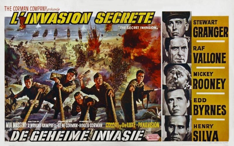 L'invasion secrète. The Secret Invasion. 1964. Roger Corman. Moviec12