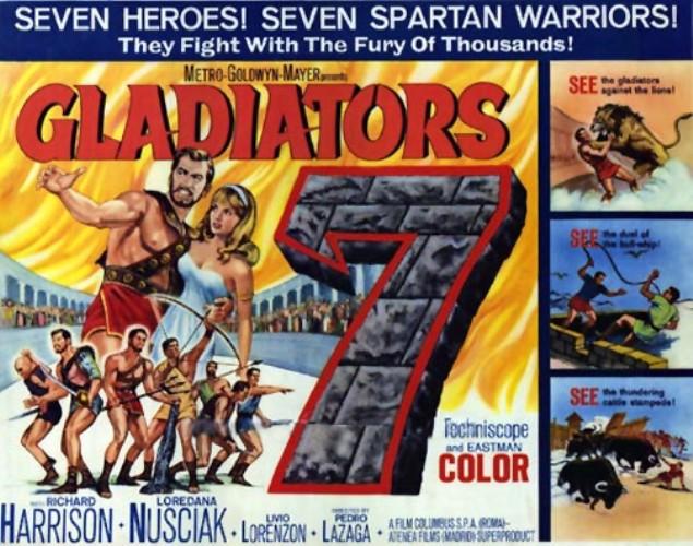 Les 7 gladiateurs. 1962. Pedro Lagaza. Rh310
