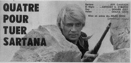 Quatre pour Sartana - E Vennero in Quatro per uccidere Sartana - Demofilio Fidani - 1969 Sca_c210