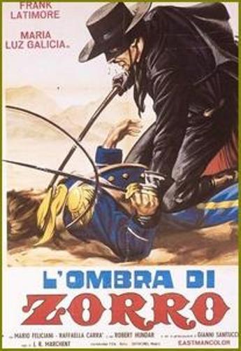 L'ombre de Zorro [ Cabalgando hacia la muerte ] . 1963 . Joachim Luis Romero Marchent . Untitl26