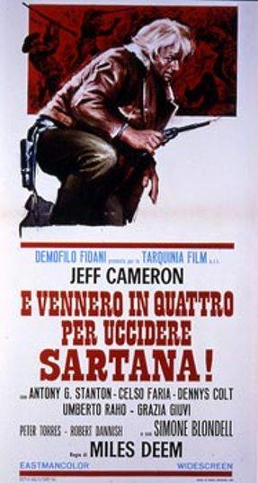 Quatre pour Sartana - E Vennero in Quatro per uccidere Sartana - Demofilio Fidani - 1969 Venner11