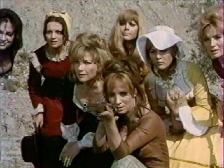 Le triomphe des 7 desperadas - Las siete magníficas - 1966 - Sidney W. Pink , Gian Franco Parolini ... Vlcs2123