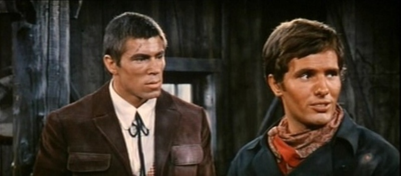 3 cavaliers pour Fort Yuma . Per Pochi Dollari Ancora . 1966 . Giorgio Ferroni. Vlcs2677