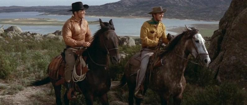 Les Aigles Noirs de Santa Fe. Die schwarzen Adler von Santa Fe. 1964. Ernst Hofbauer et Alberto Cardone. Vlcsn391