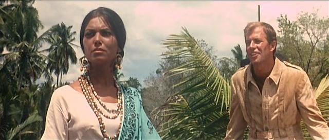 L'homme du Bengale. La montagna di luce - El diamante más grande del mundo . 1965 . Umberto Lenzi. Vlcsn854