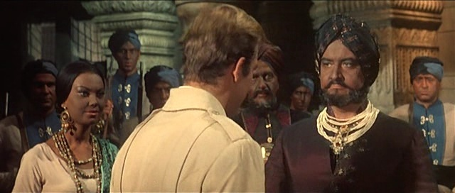 L'homme du Bengale. La montagna di luce - El diamante más grande del mundo . 1965 . Umberto Lenzi. Vlcsn855