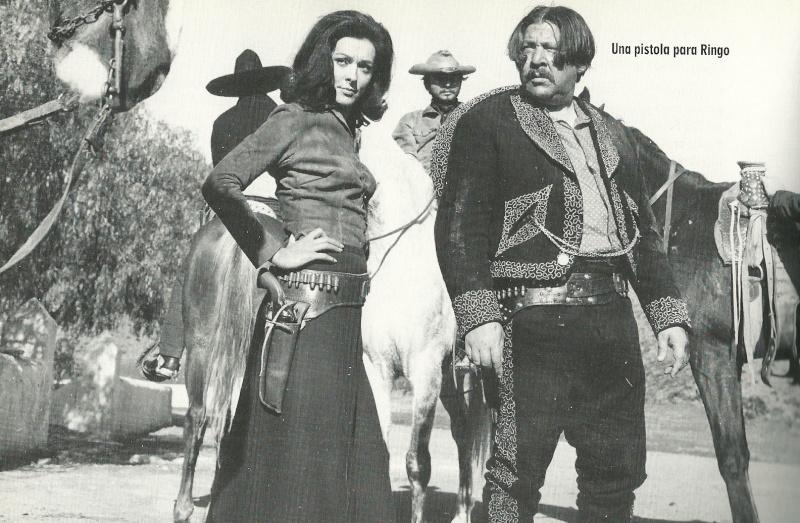 Un pistolet pour Ringo - Una Pistola per Ringo - 1965 - Duccio Tessari Women-10