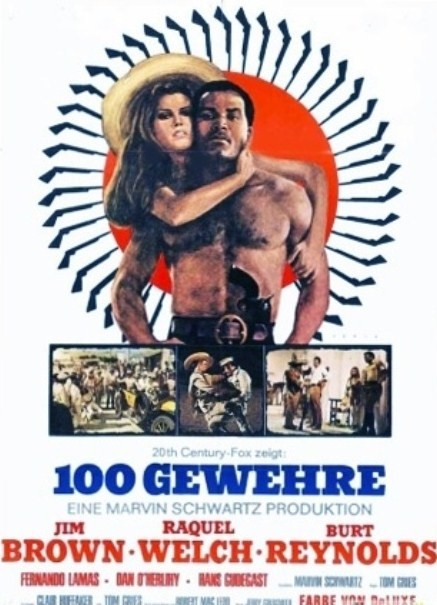 Les cent fusils . 100 Rifles . 1968 . Tom Gries . Zusa2110