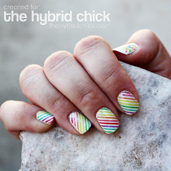Scrapbooking your Finger Nails Hybrid14