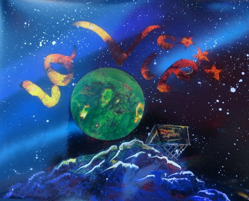 Le retour de loulou!!! et toutes mes peintures actuelles et à venir :) La_vie10