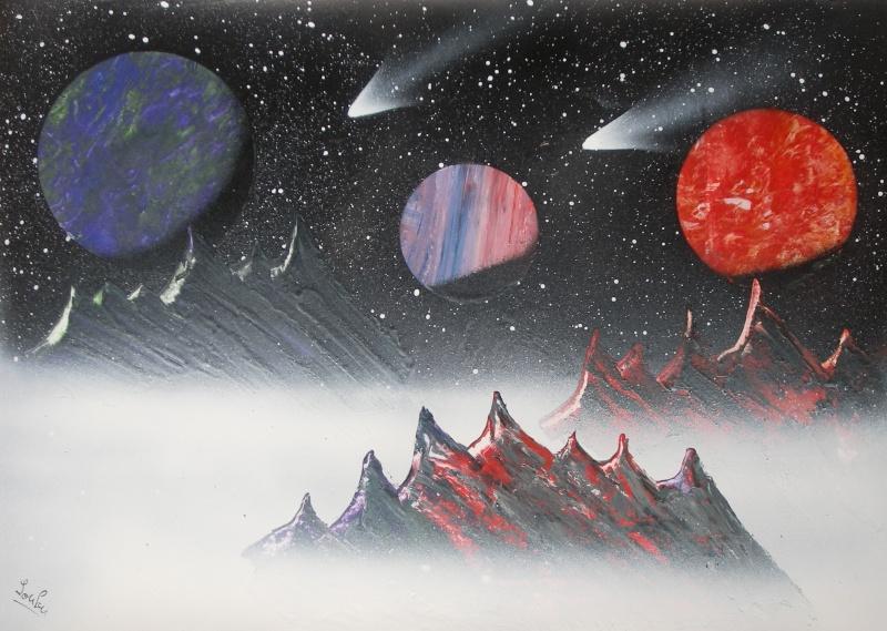 Le retour de loulou!!! et toutes mes peintures actuelles et à venir :) Montag10