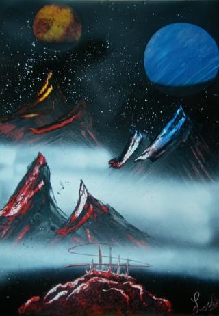 Le retour de loulou!!! et toutes mes peintures actuelles et à venir :) Montag12