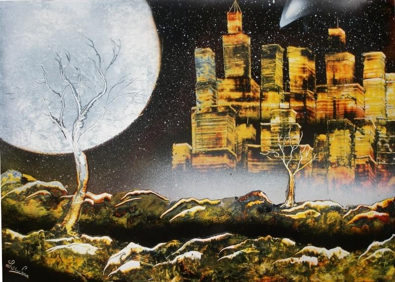 Le retour de loulou!!! et toutes mes peintures actuelles et à venir :) Ville210