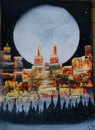 Le retour de loulou!!! et toutes mes peintures actuelles et à venir :) Ville311