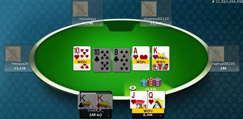Online Poker iz rigged Clipbo10
