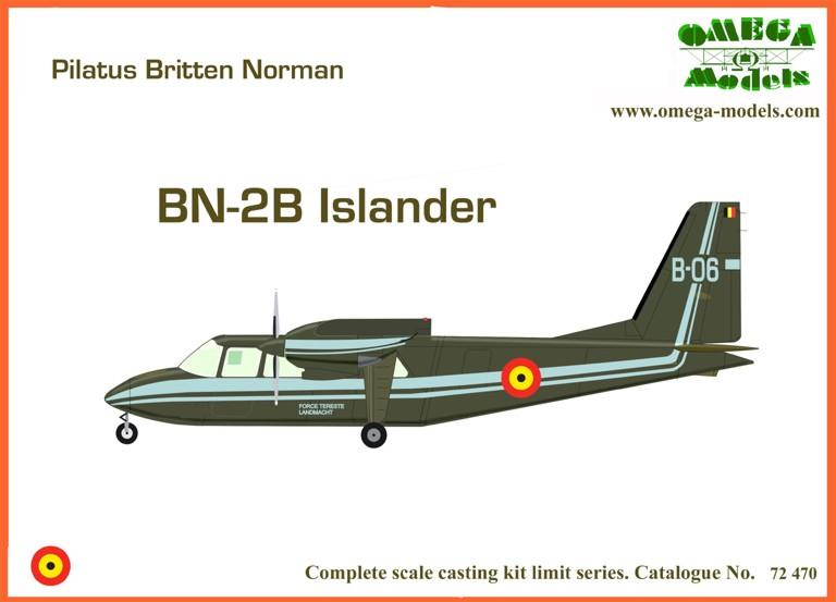 Britten Norman BN-2B Islander  8f1b3011