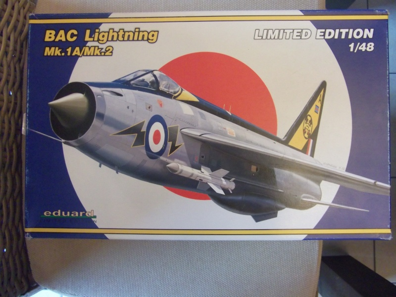 BAC Lightning F.Mk.1A/F.2 Eduard 1/48 Dscf0260