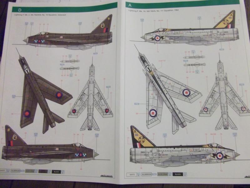 BAC Lightning F.Mk.1A/F.2 Eduard 1/48 Dscf0272