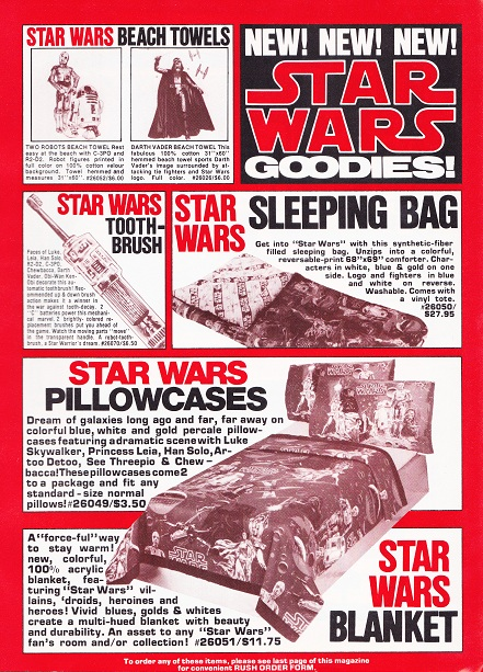 Vintage Star Wars adverts - the bizarre and the cool Creepy11