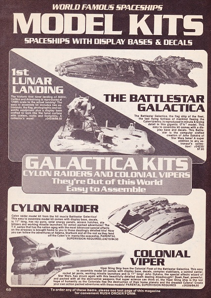Does anyone else collect vintage Battlestar Galactica? Creepy13