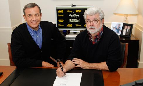 Disney to acquire Lucasfilm Ltd!! Disney10