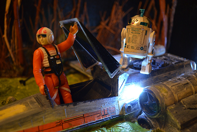 Star Wars Figures in Action!!: Overview On Page 1 - Page 5 Luke-a10