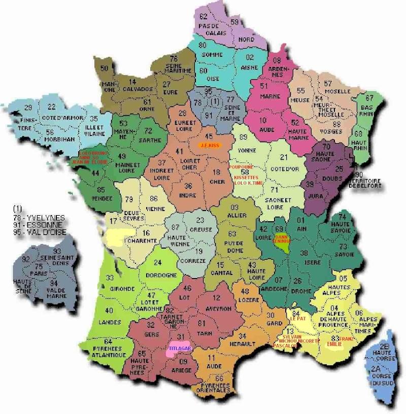 CARTE DE FRANCE BOOMERANG Carte-11