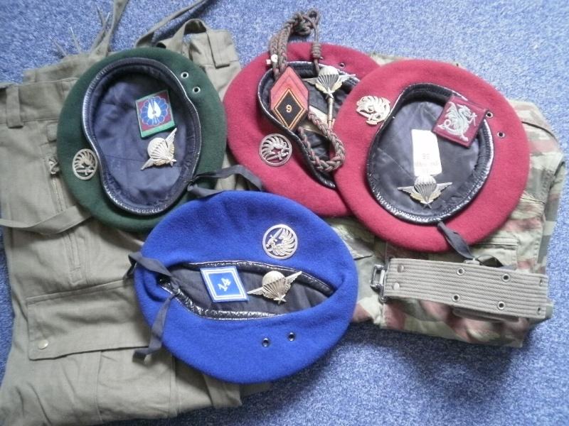 Les bérets TAP et Commandos Marine P7240314
