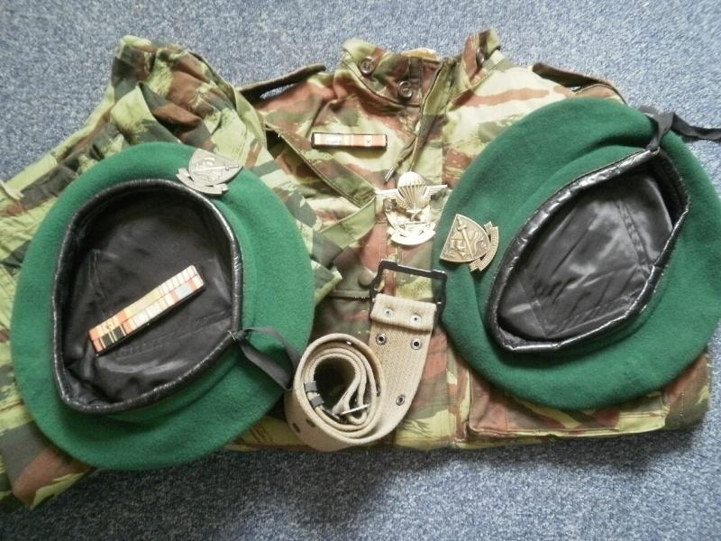 Les bérets TAP et Commandos Marine P7240315