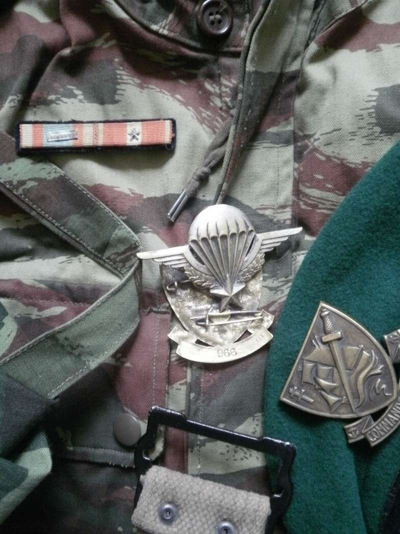Les bérets TAP et Commandos Marine P7240316