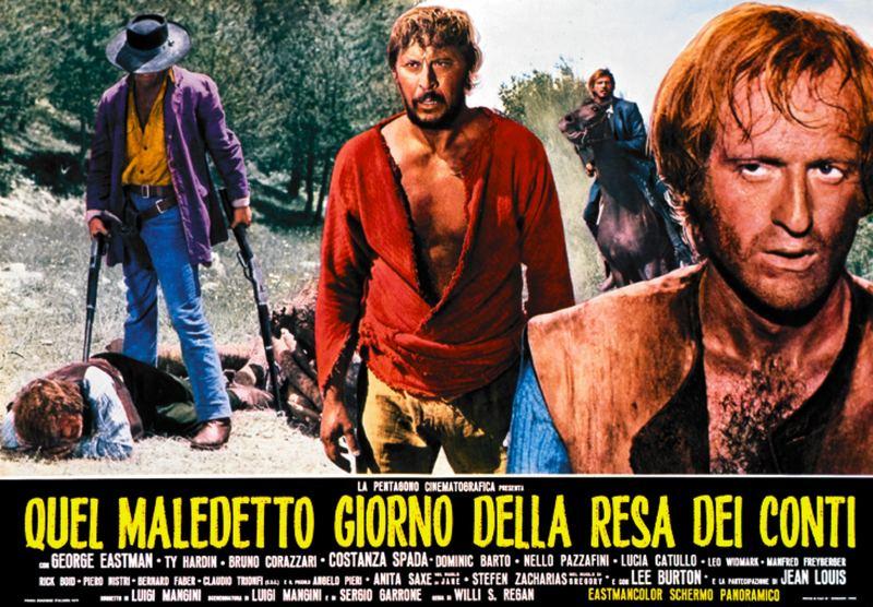 Sabata règle ses comptes - Quel maledetto giorno della resa dei conti - Sergio Garrone - 1971 Django11
