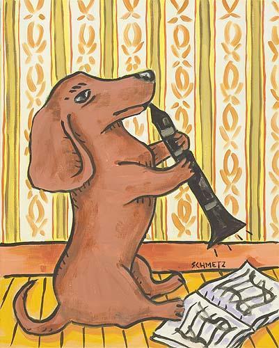 Saviez-vous que les chiens aimaient la clarinette? Est-ce10